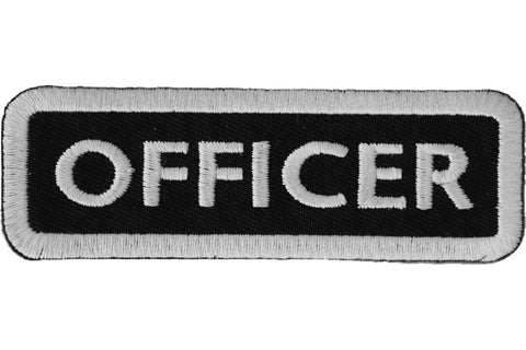 OFFICER Name Tag TAB PATCH