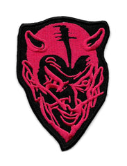 Red Devil Vintage Sew On Patch