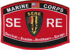 USMC MILITARY OCCUPATIONAL SPECIALTY - SERE - MOS Military Patch