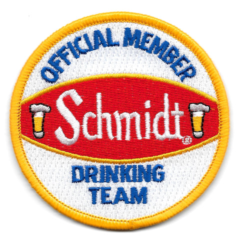 Schmidt Official Member Drinking Team Patch