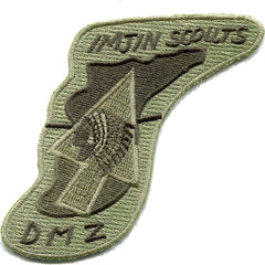 Korea Imjin Scouts Patch DMZ Black Border - Subdued