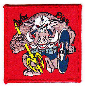 United States Navy Sea Air and Land Special Forces Military Patch WAR PIGS