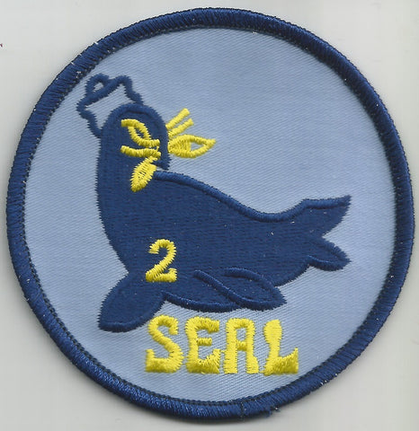 UNITED STATES NAVY SEAL TEAM TWO MILITARY PATCH - SEAL TEAM 2