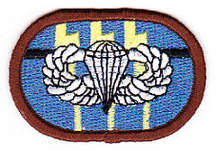 ARMY 12th Special Forces Group Airborne Military Patch OVAL