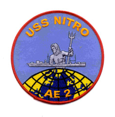 AE-2 USS Nitro Ammunition Ship Military Patch