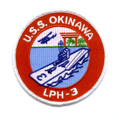 LPH-3 USS OKINAWA Amphibious Assault Helicopter Ship MILITARY PATCH