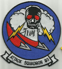 NAVY VA-93 Vertical Attack Squadron Military Patch BLUE BLAZERS