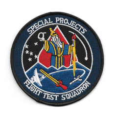 Special Projects Flight Test Squadron NASA CIA NSA USAF Patch
