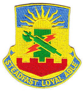 ARMY 4th Brigade Combat Team 1st Armor Division Special Troop Battalion Military Patch STEADFAST LOYAL ABLE STB-54