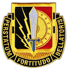 ARMY 2nd Brigade 1st Cavalry Division Special Troop Battalion Military Patch PERSTATUM FORTITUDO BELLATORIS STB-7