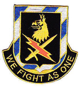 ARMY 2nd Brigade 3rd Infantry Division Special Troop Battalion Military Patch WE FIGHT AS ONE STB-9