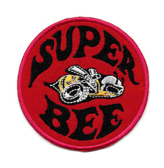 Super Bee Vintage Sew On Patch