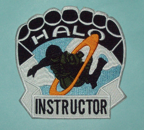 US Armed Forces Special Forces HALO Parachutist Instructor Military Patch