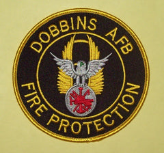 NASA SP-252 Dobbins AFB Air Force Base Fire Protection Military Patch