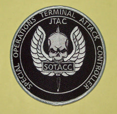 SPECIAL OPERATIONS TERMINAL ATTACK CONTROLLER ( SOTACC ) JTAC MILITARY PATCH