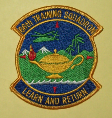 "66th TS TRAINING SQ S.E.R.E School Military Patch Insignia ""Learn and Return"""