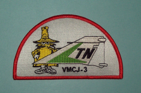 USMC VMCJ-3 COMPOSITE RECONNAISSANCE SQUAD PHANTOM TAIL MILITARY PATCH - SPOOK
