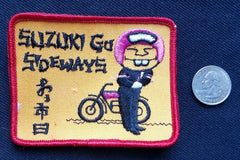 SUZUKI GO SIDEWAY'S Racing Motorcycle OUTLAW Biker Jacket Patch