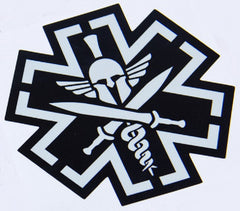 TACTICAL MEDIC SPARTAN STICKER DECAL - SWAT