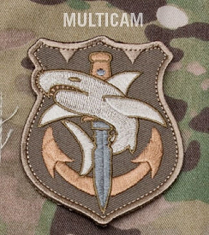 TACTICAL SHARK Hook Backing Patch - MULTICAM