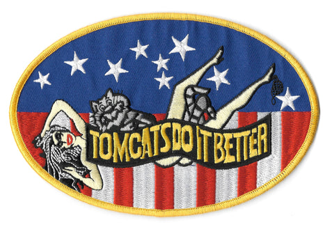 Tomcats Do It Better USN Navy Military Patch