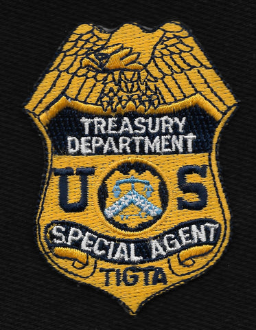 TIGTA - US Treasury Department Special Agent Mini Badge Patch