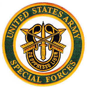 United States ARMY Special Forces Military Patch CREST DE OPPERESSO LIBER