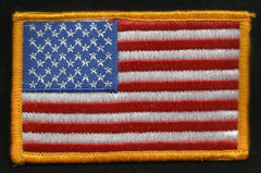 U.S.A. AMERICAN FLAG PATCH