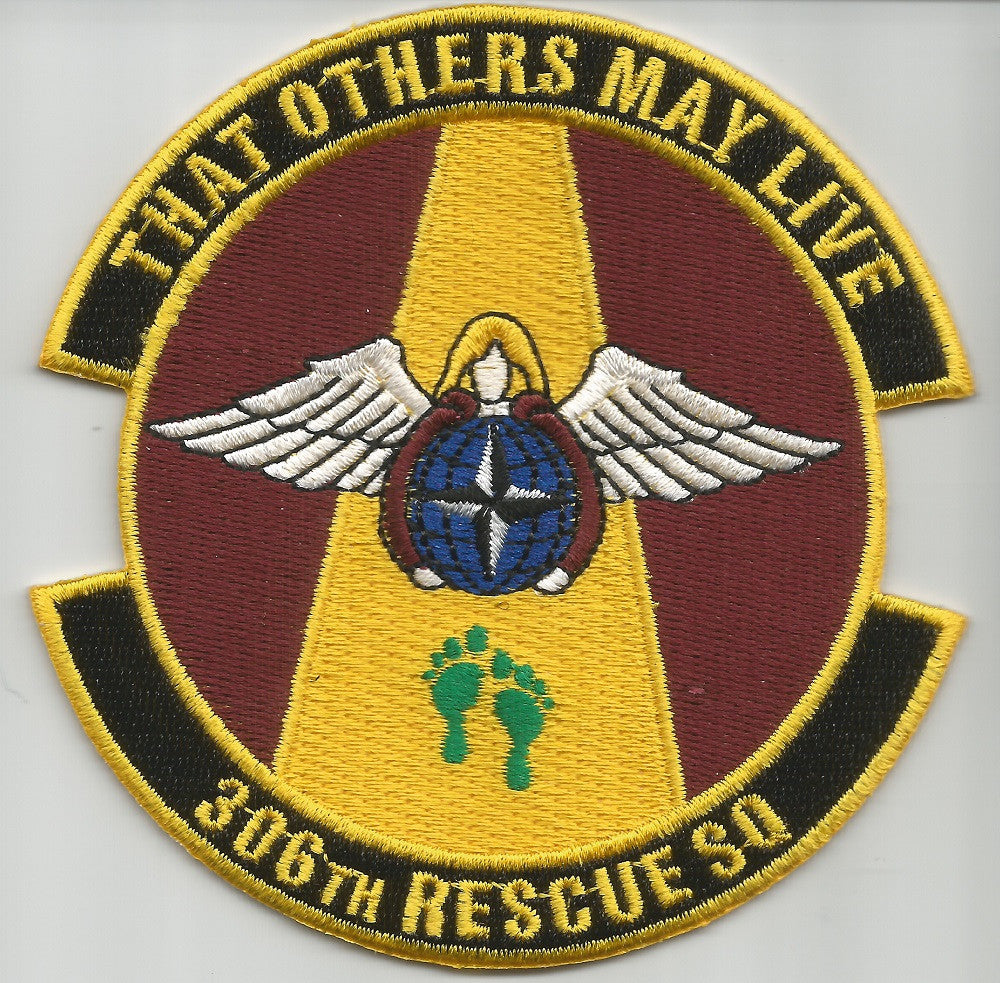 USAF 306th RESCUE SQUADRON MILITARY PATCH - THAT OTHERS MAY