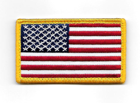 American Flag USA Hook Patch - Full Color