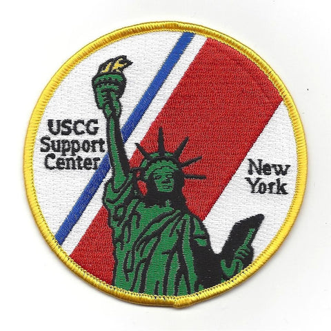 USCG Support Center New York Military Patch