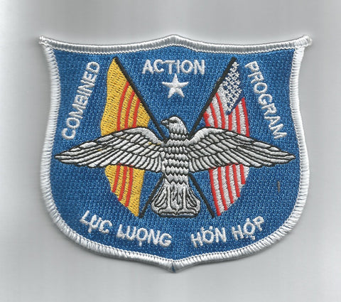 USMC Combined Action Program Vietnam War MILITARY PATCH LUC LUONG HON HOP