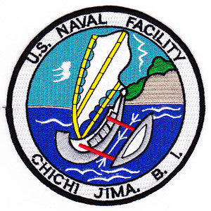 US NAVAL FACILITY CHICHI JIMA BONIN ISLANDS Military Patch
