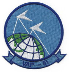US NAVY VAP-61 HEAVY ATTACK SQUADRON MILITARY PATCH VAPPERS
