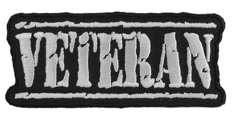 VETERAN Old Stamper Patch - White