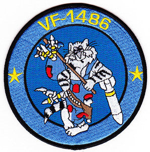 NAVY VF-1486 Aviation Fighter Squadron One Four Eight Six Military Patch THE FIGHTING HOBOS