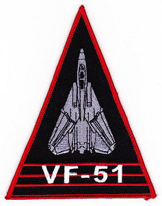 VF-51 US NAVY Aviation Fighter Squadron Fifty One Military Patch FIGHTING FIFTY ONE