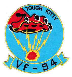 VF-94 US Navy Aviation Fighter Squadron Ninety Four Military Patch TOUGH KITTY