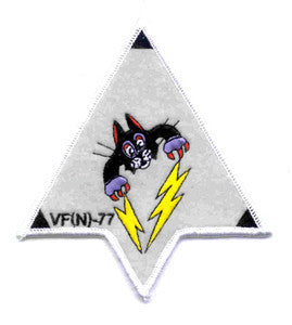VF(N)-77 US NAVY Aviation Night Torpedo Fighter Squadron Seventy Seven Military Patch