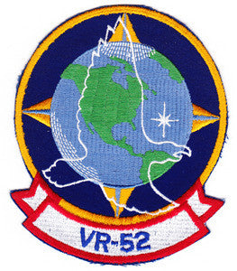 VR-52 US NAVY Aviation Air Transportation Squadron Fifty Two Military Patch