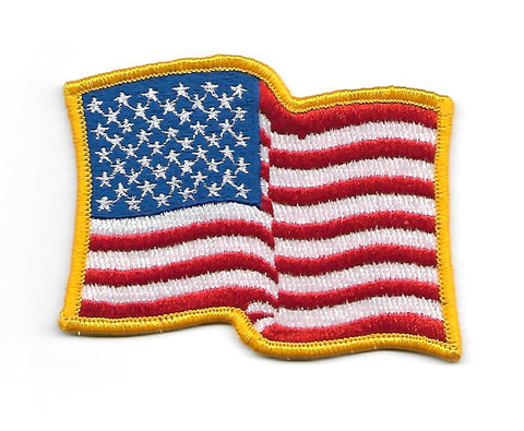 Vintage United States WAVY FLAG PATCH