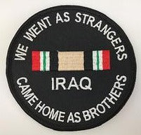 We Went As Strangers Came Home As Brothers IRAQ Patch