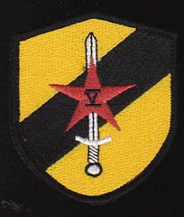 USAF SERE Trainer Military Patch - SHIELD -The Bad Guys - Velcro Backed