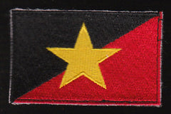 USAF SERE Trainer Military Patch - Flag Star -The Bad Guys - Velcro Backed