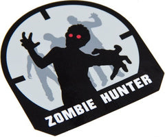 ZOMBIE HUNTER TACTICAL COMBAT DECAL STICKER