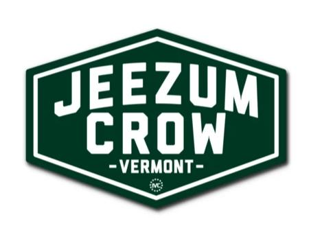 Jeezum Crow (sticker)