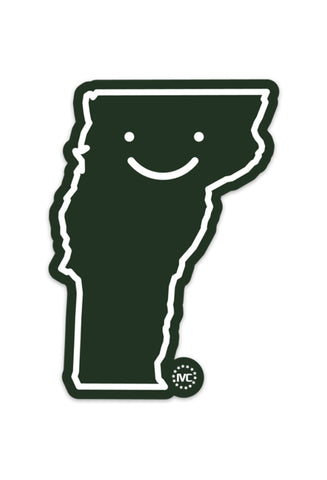 Happy Vermont (Sticker)