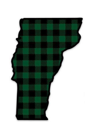 Plaid Vermont (Sticker)