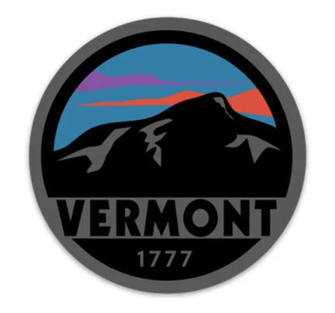 1777 VT Sunset Sticker