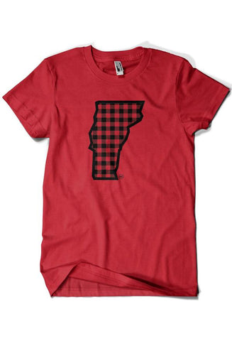 Vermont Plaid (T-shirt)